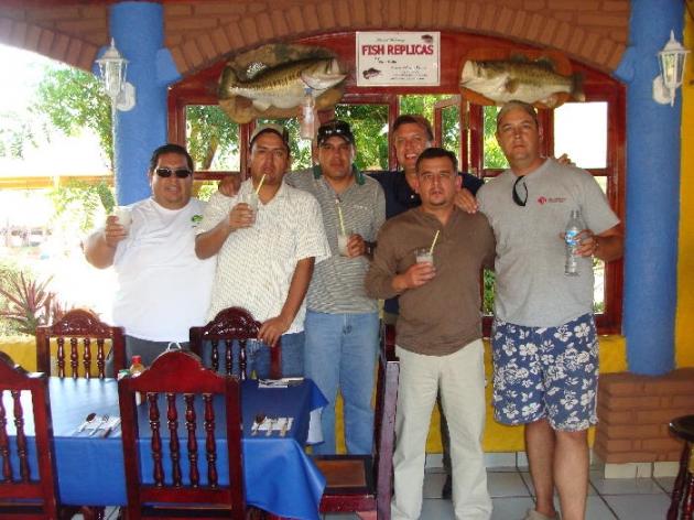 El Salto Lodge pescadores de Durango