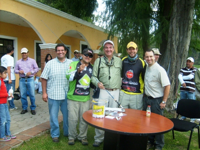 Anglers Torneo Chautla lobina 2011