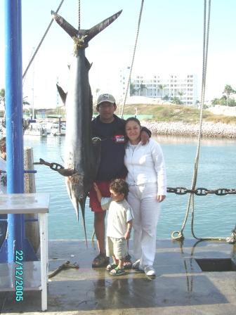 Relato sobre la pesca de un Marlin Azul