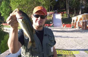 Pesca en la Ex Hacienda de Chautla