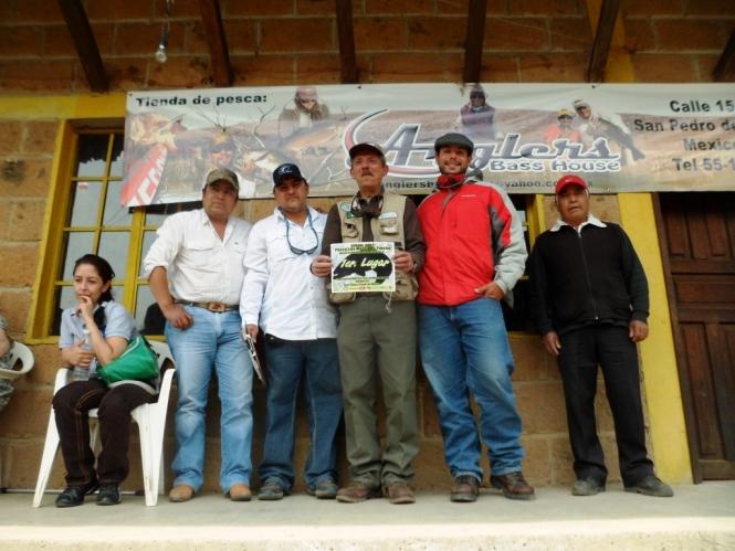 Pesca con mosca Torneo Entre Valles 2012 Trucha Fly Fishing edomex