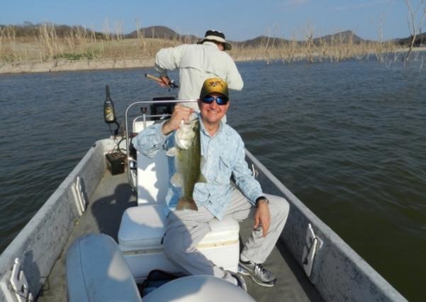Lobinas Trofeo donde pescar bass México