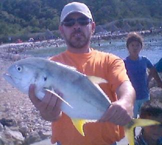 Una excelente pesca en Campeche
