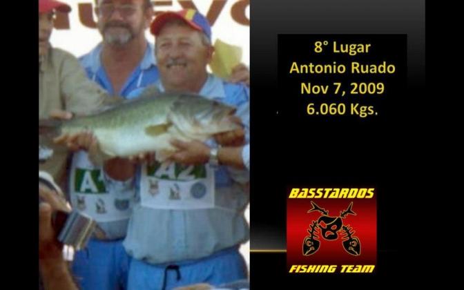 Lobinas grandes bass El Cuchillo pesca anglers