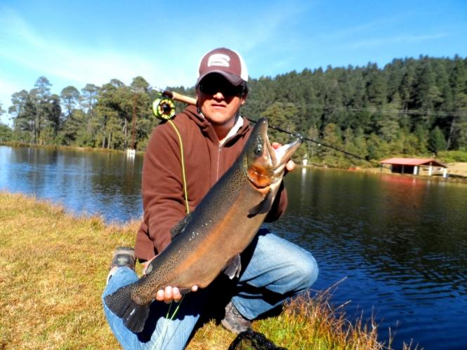 LA ciénega Raices donde pescar trucha fly fishing